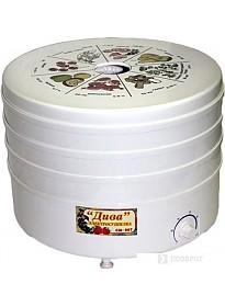Сушилка для овощей и фруктов Ротор Дива СШ-007-3 (белый)