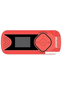 MP3 плеер Digma R3 8GB (красный)