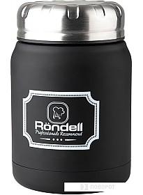 Термос для еды Rondell RDS-942 0.5л (черный)