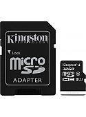 Карта памяти Kingston Canvas Select SDCS/32GB microSDHC 32GB (с адаптером)
