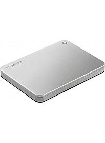 Внешний жесткий диск Toshiba Canvio Premium 1TB (серебристый)
