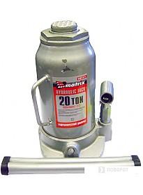 Бутылочный домкрат Matrix 50731 20т.