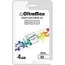 USB Flash Oltramax 50 4GB (белый) фото и картинки на Povorot.by