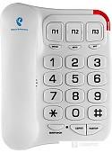 Проводной телефон TeXet TX-214 (белый)