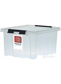 Ящик для инструментов Rox Box 36 литров (прозрачный)