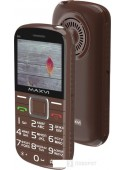Мобильный телефон Maxvi B5 (коричневый)