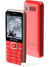 Мобильный телефон Maxvi P16 (красный)