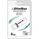 USB Flash Oltramax 230 4GB (белый) [OM-4GB-230-White] фото и картинки на Povorot.by