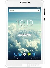 Планшет Digma Plane 7563N PS7178ML 16GB 4G (серебристый)