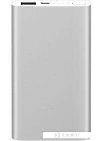 Портативное зарядное устройство Xiaomi Mi Power Bank 2 5000mAh (серебристый)