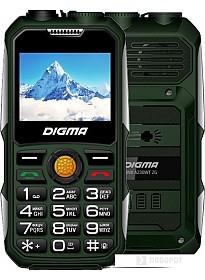 Мобильный телефон Digma Linx A230WT 2G (зеленый)