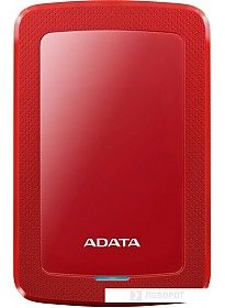 Внешний жесткий диск A-Data HV300 AHV300-4TU31-CRD 4TB (красный)