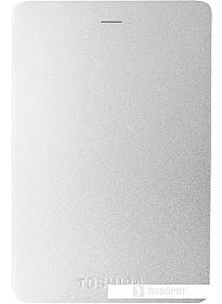 Внешний жесткий диск Toshiba Canvio Alu HDTH310ES3AB 1TB (серебристый)