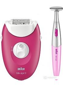 Эпилятор Braun Silk-epil 3 3-420