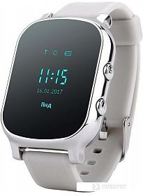 Умные часы Smart Baby Watch GW700 (серебристый)