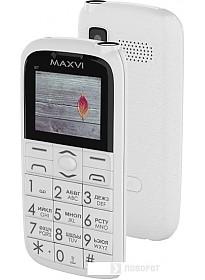 Мобильный телефон Maxvi B7 (белый)