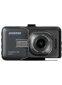 Автомобильный видеорегистратор Digma FreeDrive 108 DUAL