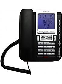 Проводной телефон Аттел 211 (черный)