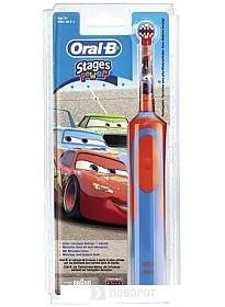 Электрическая зубная щетка Braun Oral-B Stages Power Cars (D12.513.K)