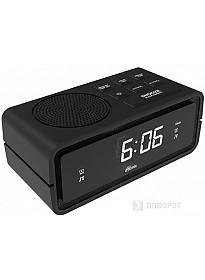 Радиочасы Ritmix RRC-606 (черный)