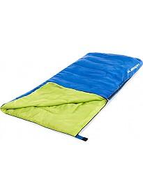 Спальный мешок Acamper Одеяло 300г/м2 (синий/зеленый)
