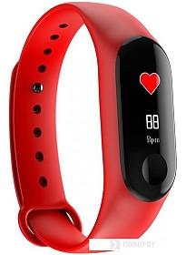 Фитнес-браслет Smarterra FitMaster Color (красный)