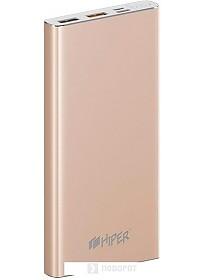 Портативное зарядное устройство Hiper MPX10000 (золотистый)