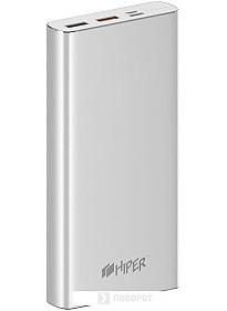 Портативное зарядное устройство Hiper MPX15000 (серебристый)