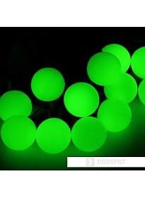 Гирлянда Luazon Шарики большие Led-100 (10 м, зеленый) [185541]