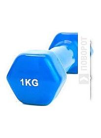 Гантели Bradex 1 кг (синий)