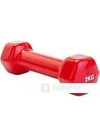 Гантели Bradex 2 кг (красный)