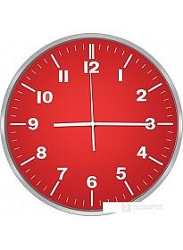 Настенные часы CENTEK СТ-7100 (красный)