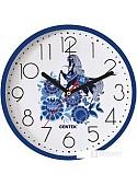 Настенные часы CENTEK СТ-7105 (гжель)