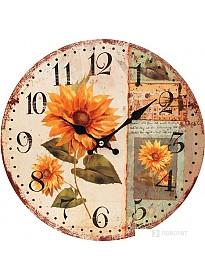 Настенные часы Белоснежка Подсолнух