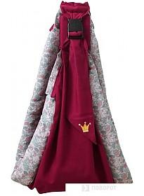 Рюкзак-переноска Polini Kids Disney Последний богатырь с вышивкой (принцесса розовый)