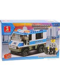 Конструктор Sluban M38-B0273 Полицейский автомобиль