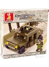 Конструктор Sluban M38-B0297 Военный хаммер