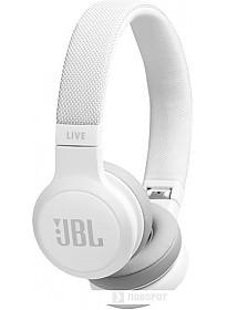 Наушники JBL Live 400BT (белый)