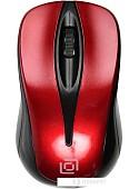 Мышь Oklick 675MW (красный)