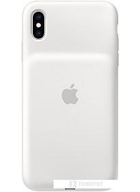 Чехол Apple Smart Battery Case для iPhone XS Max (белый)