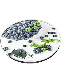 Кухонные весы Lumme LU-1341 (черничная россыпь)