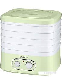 Сушилка для овощей и фруктов Marta MT-1945 (белый/салатовый)