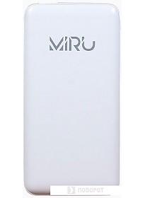 Портативное зарядное устройство Miru LP-1036A (белый)