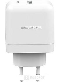 Сетевое зарядное Atomic U216W