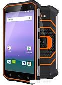 Смартфон Ginzzu RS8502 (оранжевый)