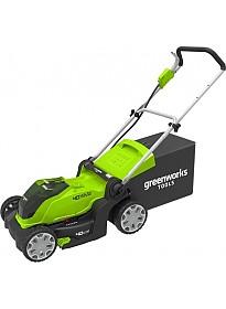 Колёсная газонокосилка Greenworks G40LM41