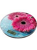 Кухонные весы Lumme LU-1341 (розовая гербера)