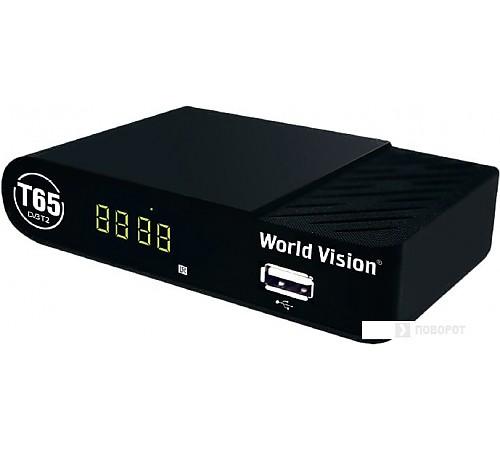 Приемник цифрового ТВ World Vision T65