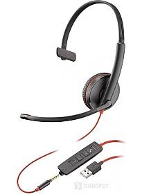 Наушники Plantronics Blackwire C3215 USB-A