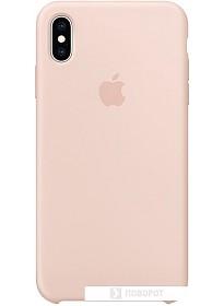 Чехол Apple Silicone Case для iPhone XS Max Pink Sand